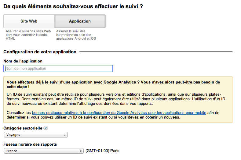google-analytics-application-id