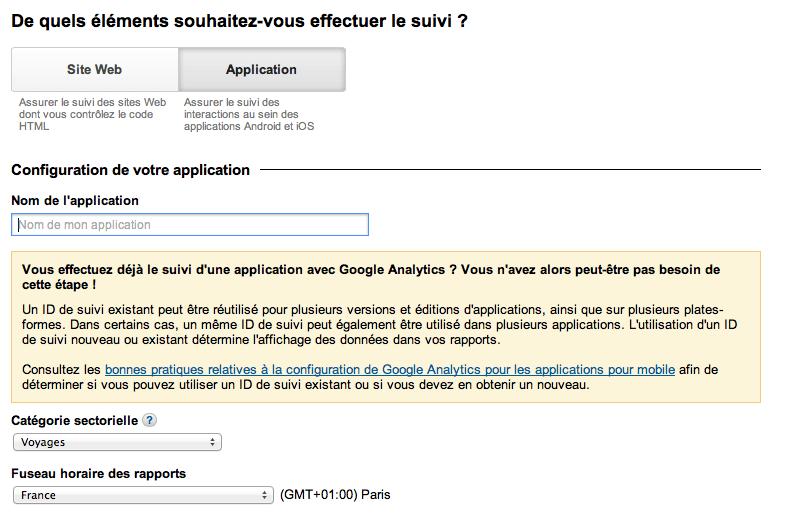google-analytics-application-id